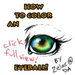 eye coloring in psd tutorial