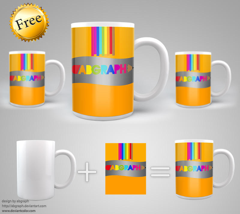 mock up big cup by abgraph
