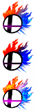 Botones Smash (Iconos) by EGZ-Jr