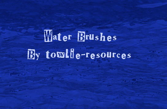 Water Brushes by towlie-resources