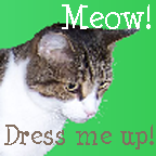 Dress up my cat Link by therougecat