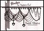 Heart Chain Brushes