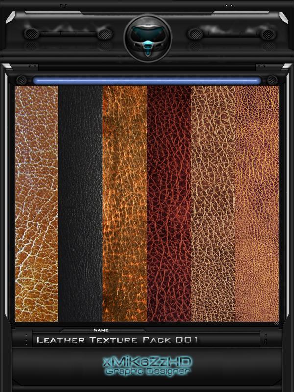 Leather Texture Pack 001 by xMiKeZzHD