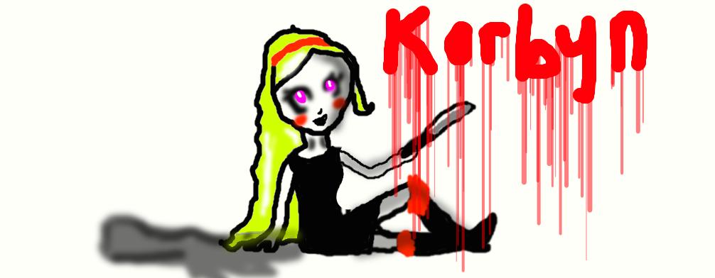 Korbyn the killer by AlyssumPetal