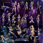 Samus Aran Pose Pack by SSPD077 by SSPD077