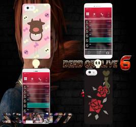 DOA6 Honoka N Marie Phones by SSPD077