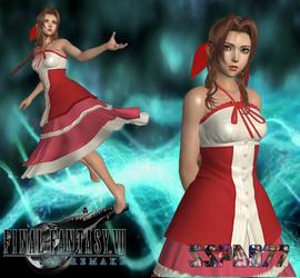 FFVII Aerith Gainsborough KH3 Dress by SSPD077