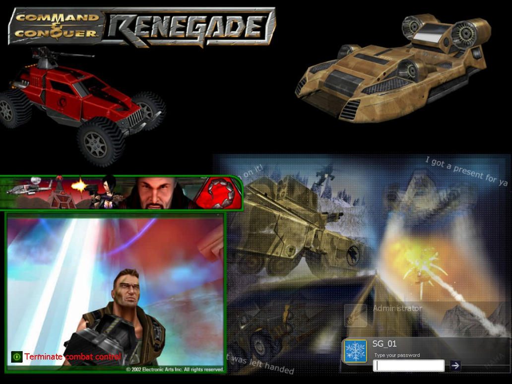 Renegade Logon by sg01