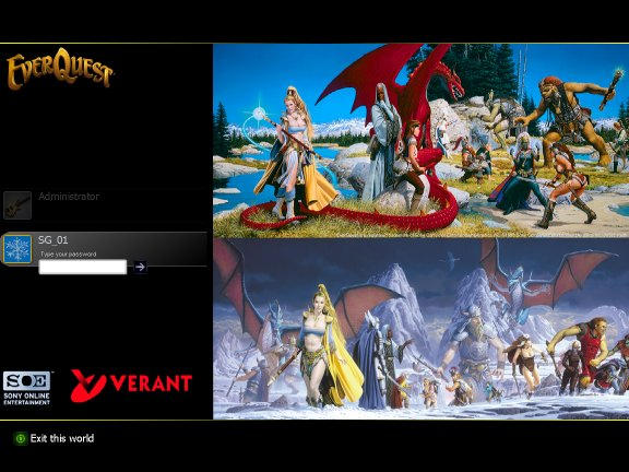 EverQuest Logon by sg01