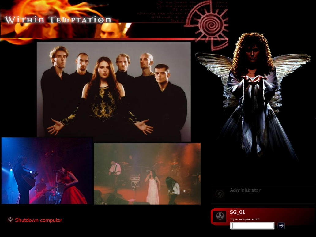Within Temptation Logon by sg01