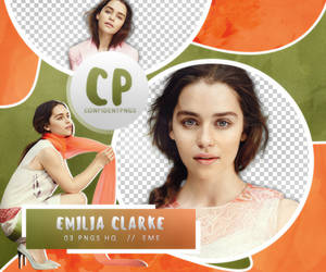 Png Pack 369 // Emilia Clarke by confidentpngs