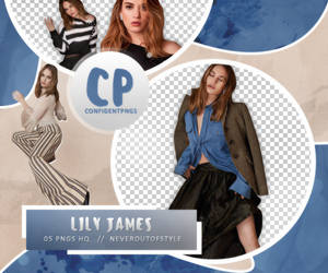Png Pack 413 // Lily James by confidentpngs