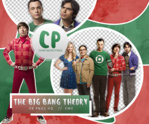 Png Pack 386 // The Big Bang Theory by confidentpngs