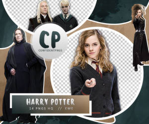 Png Pack 449 // Harry Potter by confidentpngs