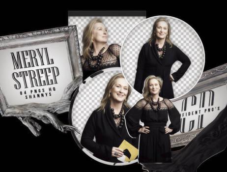 Png Pack 585 // Meryl Streep