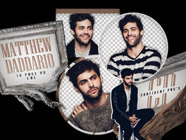 Png Pack 629 // Matthew Daddario by confidentpngs