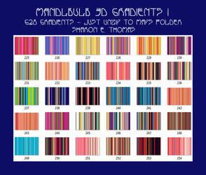 468 Mandelbulb Gradients 1 By Sharon E. Thomas by Darkestnightmare