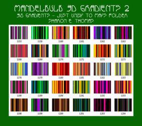 Mandelbulb 3D Gradients 2 By Sharon E. Thomas by Darkestnightmare