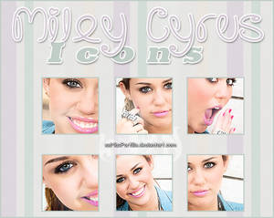 Miley Cyrus Icons