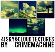 41 Sky Textures -CRIMEMACHINE by crimemachine