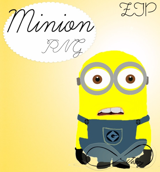 Minion PNG by JessyTutosMoustache