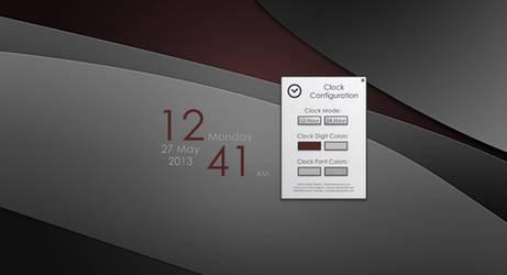 Tributes Clock v2.1 for Rainmeter