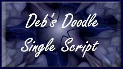 Debs Doodle Single Script
