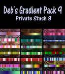 Gradient Pack 9
