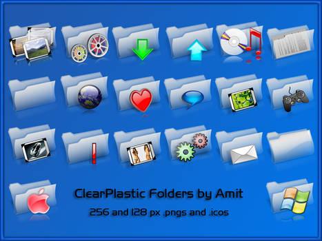 ClearPlastic Folders