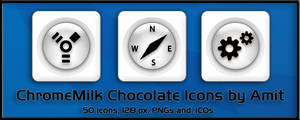 ChromeMilk Chocolate Icons