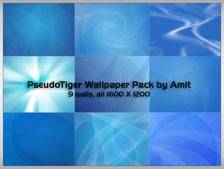 PseudoTiger Wallpaper Pack by amitsaraf32
