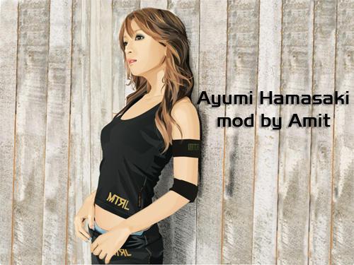 Ayumi Hamasaki Wallpaper by amitsaraf32