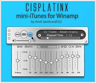 CisplatinX mini-iTunes Winamp by amitsaraf32