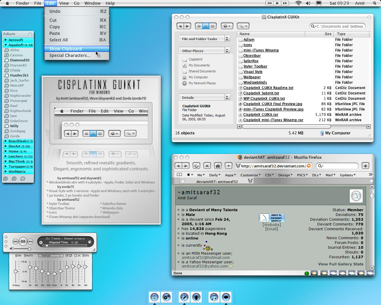 CisplatinX GUIKit for Windows by amitsaraf32