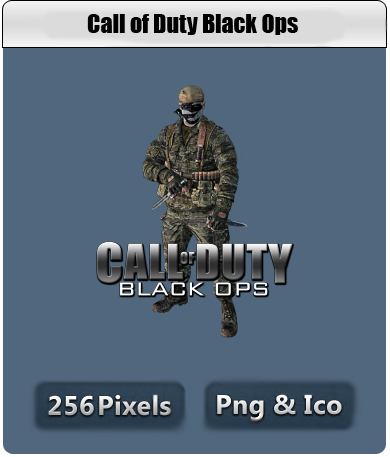 Call of Duty Black Ops Icon by ~thedevilbringer666 on deviantART