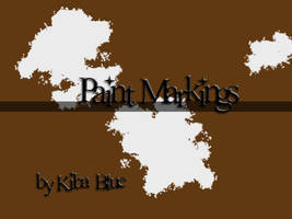 Paint Marking Brush Set by KibaBlue