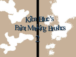 Paint Marking Brush Set 2 by KibaBlue