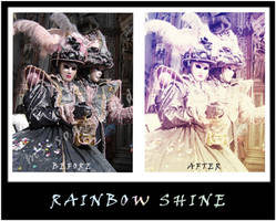 Rainbow Shine Action by ms-soandso