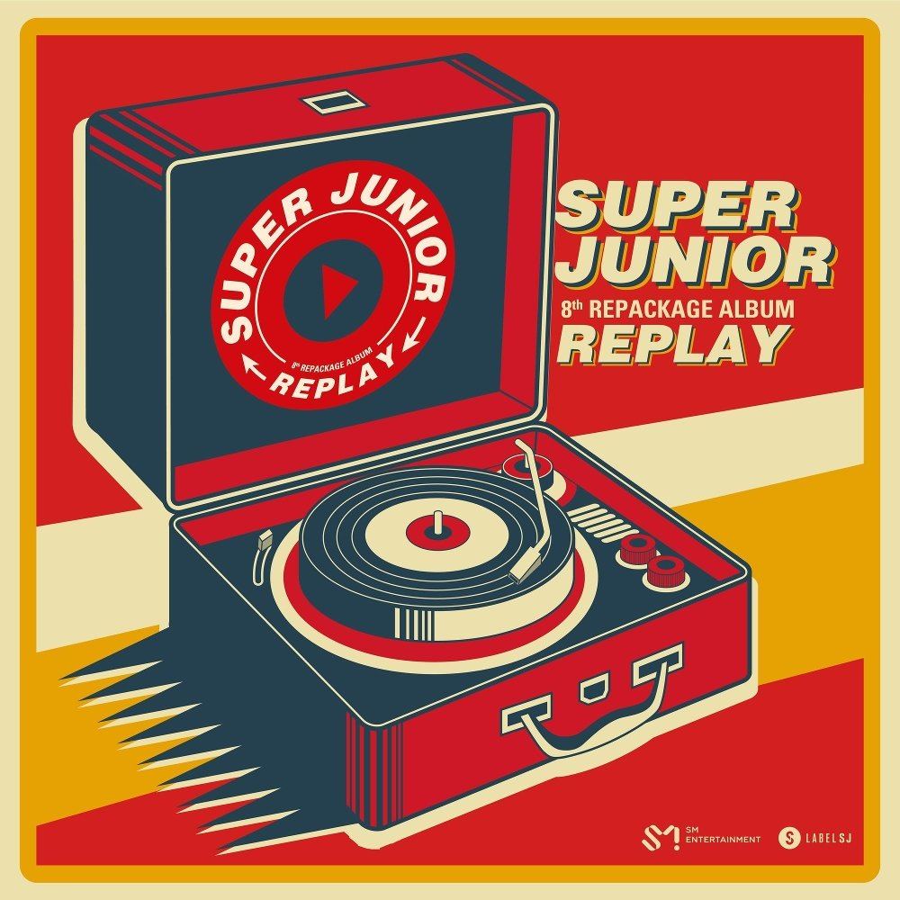 SUPER JUNIOR - REPLAY - The 8th Repackage Album by criscrazy