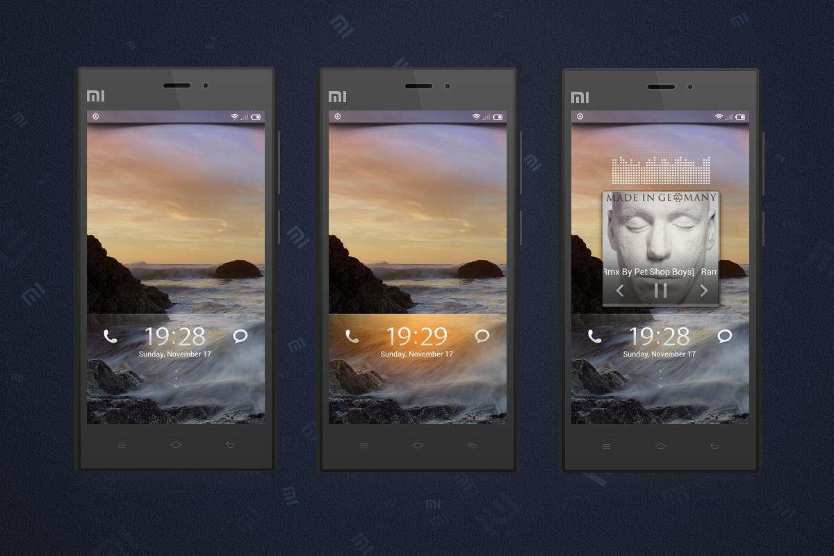 V6 Lockscreen for MIUI V5 by Xiaomi-MIUI