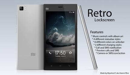 Retro Locksceen for MIUI by Xiaomi-MIUI