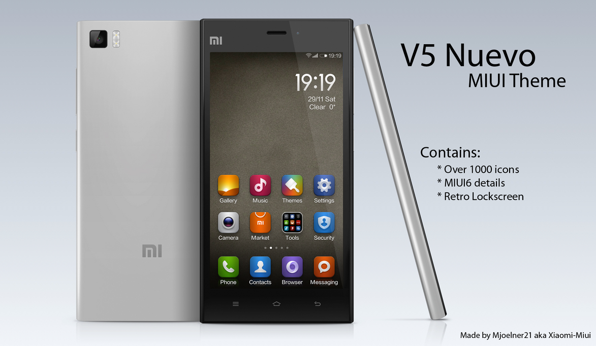 V5 Nuevo Theme for MIUI by Xiaomi-MIUI
