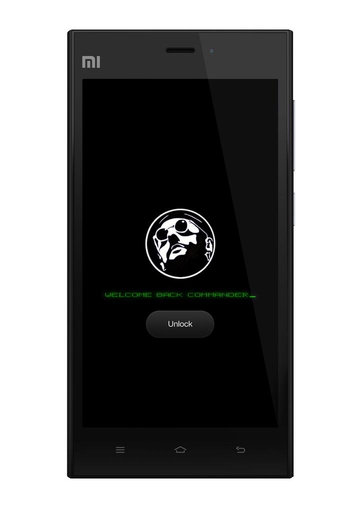Commander Lockscreen for MIUI by Xiaomi-MIUI