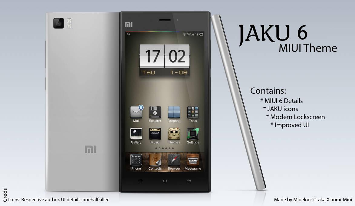 JAKU 6 MIUI Theme by Xiaomi-MIUI on DeviantArt