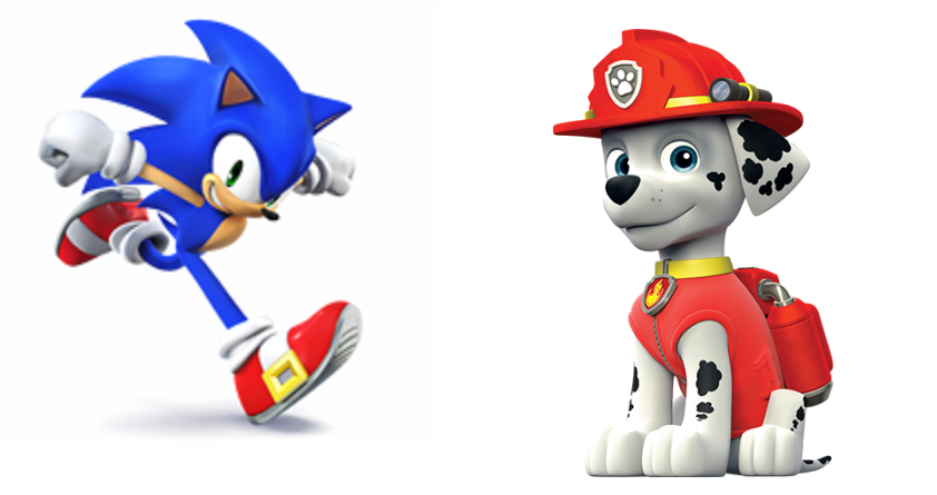 Sonic Meets Paw Patrol By Bloodhoundpreston On Deviantart