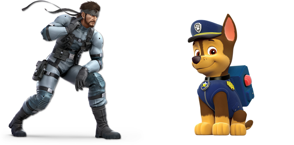 Solid Snake Meets Paw Patrol by BloodhoundPreston on DeviantArt