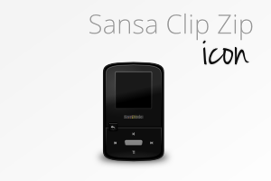 Sansa Clip Zip icon by Amathadius