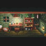 Swamp Hut (inside)