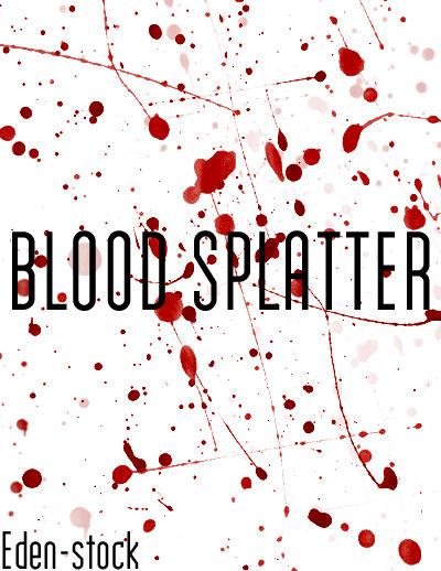 blood splatter brushes by edenstock on deviantart