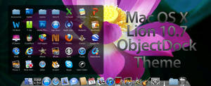 Mac OS X Lion ObjectDock Theme